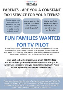 Are you a teen taxi driver?