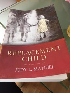 Book by Judy L. Mandel explores what it means to be born after a sibling dies.